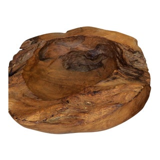 Teak Root Bowl