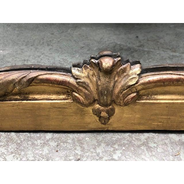 Louis XVI 18th Century Trumeau Mirror For Sale - Image 6 of 10