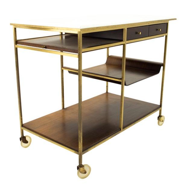 Paul McCobb Mid Century Bar Cart For Sale