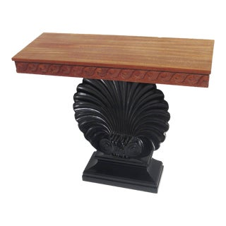 "Edward Wormley ""Shell"" Console Table for Dunbar For Sale"