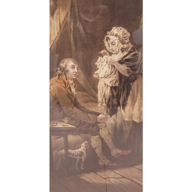 Engraving 18th Century George Morland Hand Colored Mezzotints Published by T. Simpson, London 1789 For Sale - Image 7 of 13