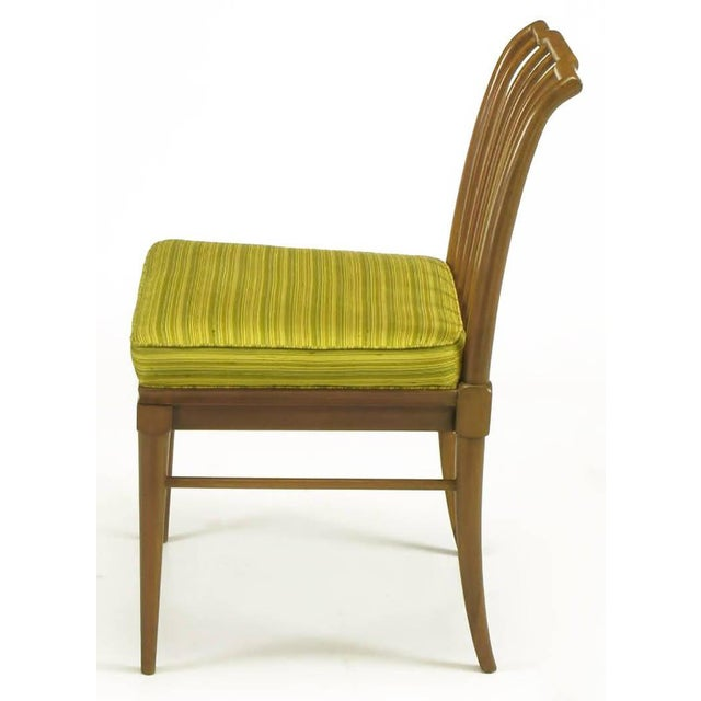 John Widdicomb Six J. Stuart Clingman Dining Chairs by John Widdicomb For Sale - Image 4 of 11