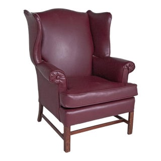 Vintage English Wingback Chair