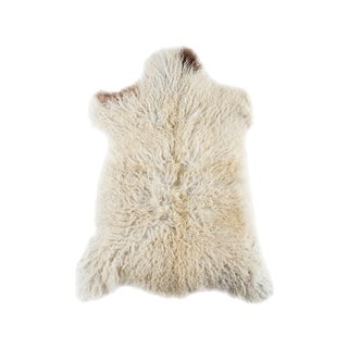 "Contemporary Hand-Tanned Sheepskin Pelt - 2'2""x3'0"""