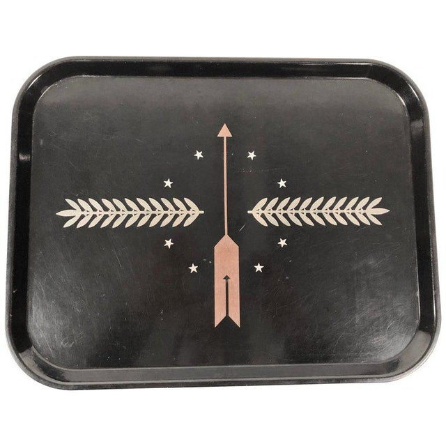 Art Deco George Switzer Inlaid Resin Tray for Micarta, Circa 1930s For Sale - Image 11 of 11