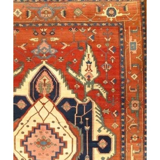 This is a hand-woven Persian BAKHSHAYESH rug Hand-spun wool rug. It is 100% lamb's wool. All natural Dyed This rug is...
