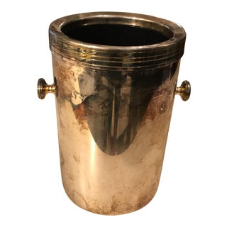 Maestri Silver Plate Ice Bucket