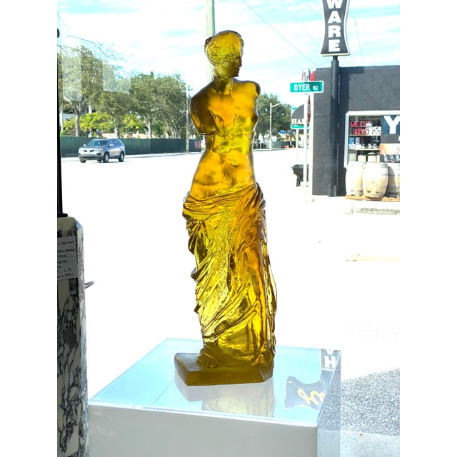 This stylish, rare and chic figure of the Venus de Milo was designed and created in the 1960s by the American artist...