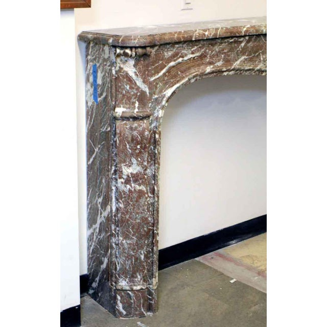 Danny Alessandro French Louis XV Antique Marble Mantel For Sale - Image 4 of 10