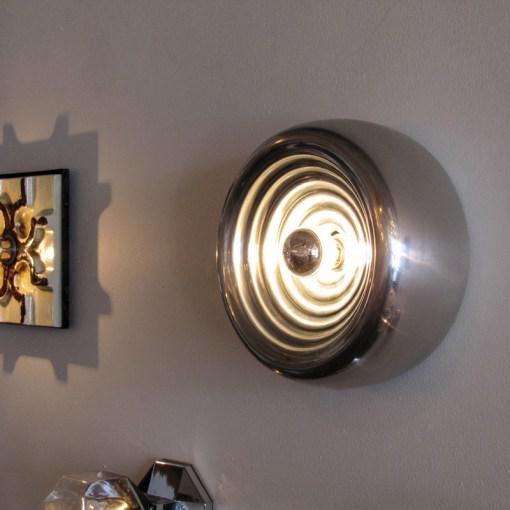 "Silver Castiglioni ""Padina"" Wall Lights - A Pair For Sale - Image 8 of 10"