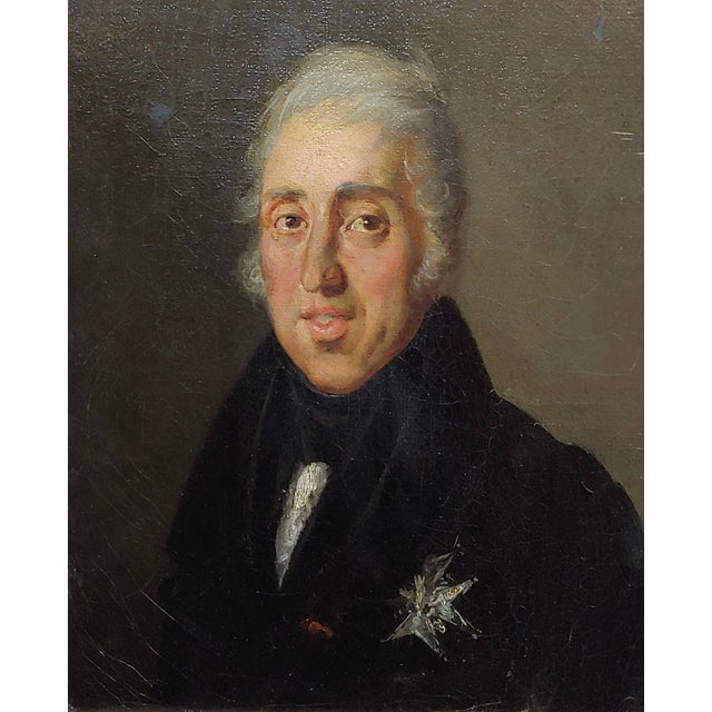 Americana Portrait of Andrew Jackson - 19th Century Oil Painting For Sale - Image 3 of 8