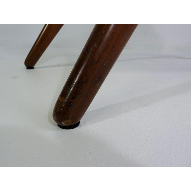 Early 20th Century Vladimir Kagan Sculpted Stool For Sale - Image 5 of 8