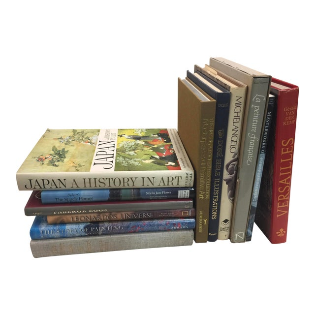 Decorative Book Lot Coffee Table Books 12 Books For Sale