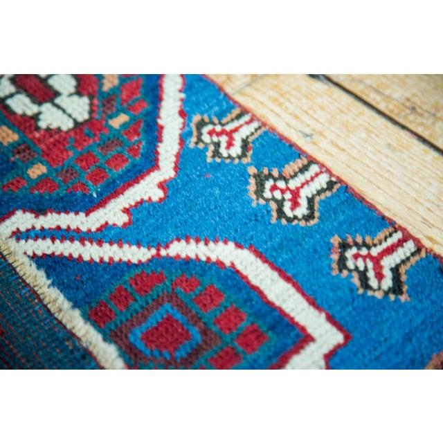 """Antique Caucasian Rug Mat Fragment - 2'5"""" x 2'11"""" - Image 2 of 5"""