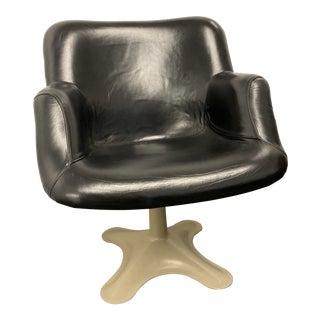 "1960s Vintage Yrjö Kukkapuro for Hiami Finland ""Junior"" No. 416 Swivel Chair For Sale"