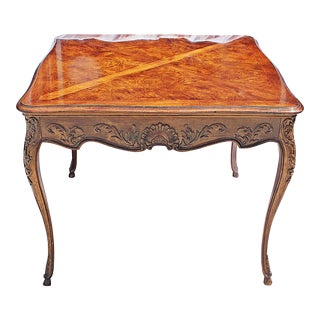 French Country Style Louis-XV Dining Side Table For Sale