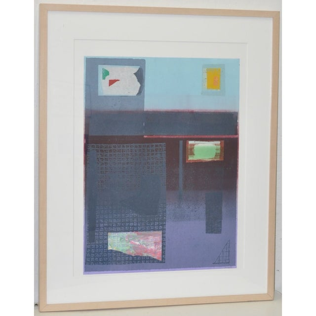 "Robert Inman (American, 20th c.) Pair of lithographs by listed artist Robert Inman. ""California Series"" and ""Osaka..."
