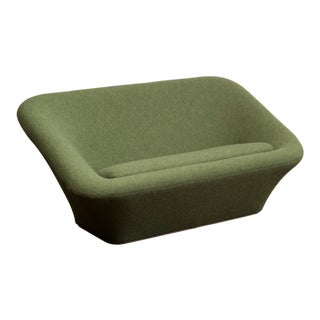Pierre Paulin Mushroom Sofa in Wool for Artifort, France, 1962 For Sale