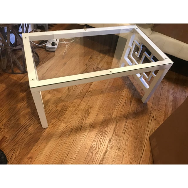 White Glass Coffee Table - Image 3 of 3