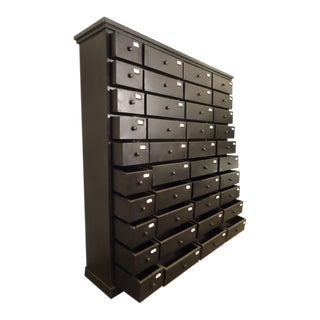 Forty-Drawer Cabinet