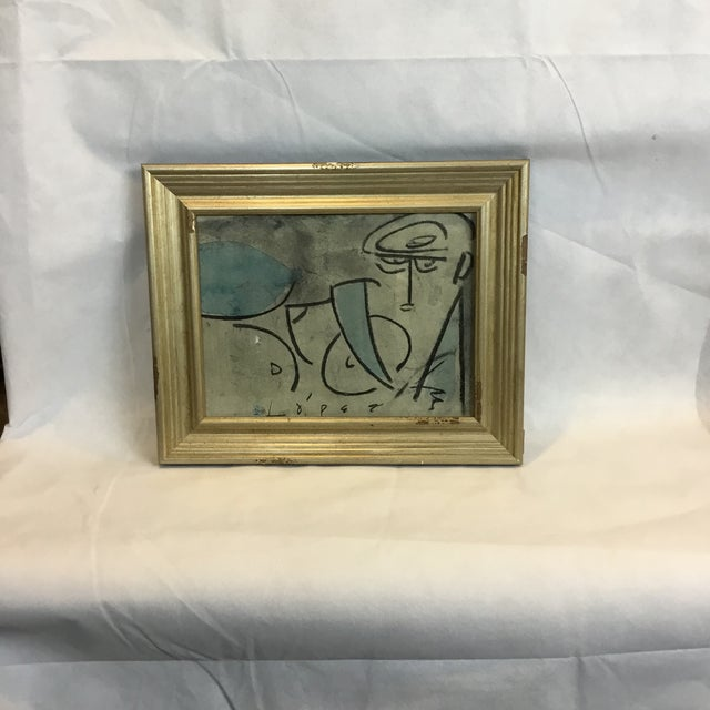 Lucia Lopez Artist Study #4 For Sale In Wichita - Image 6 of 6