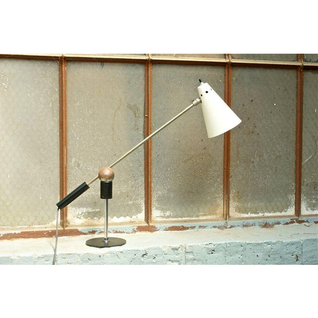 Metal Gilbert Waltrous Table Lamp For Sale - Image 7 of 7