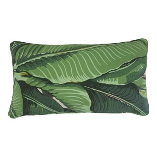Banana Leaf Custom Lumbar Pillow