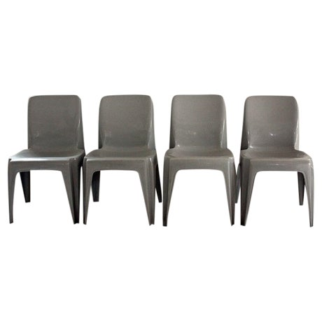 Furey Sebel Furniture Aus Integra Chairs Set of 4 For Sale