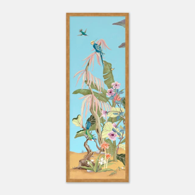 "Allison finds inspiration for her ""Modern Chinoiserie"" works in vintage scientific illustration, gardens and..."