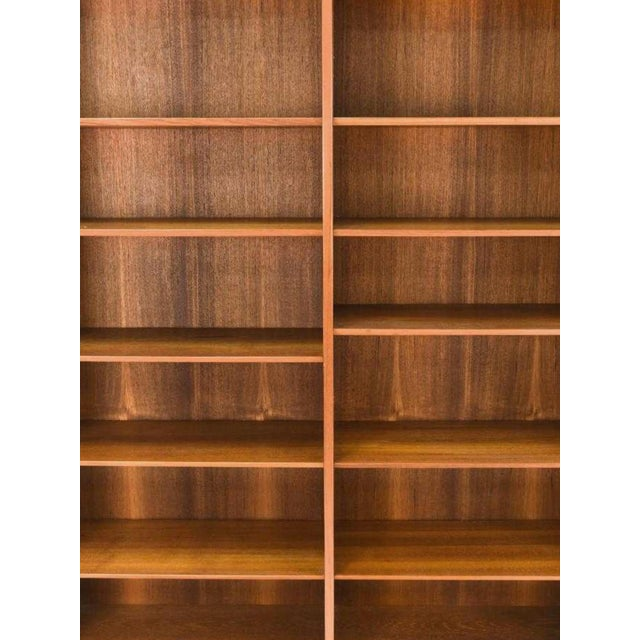 Mid 20th Century Mid-20th Century Danish Modern Teak Bookcase by Poul Hundevad For Sale - Image 5 of 10