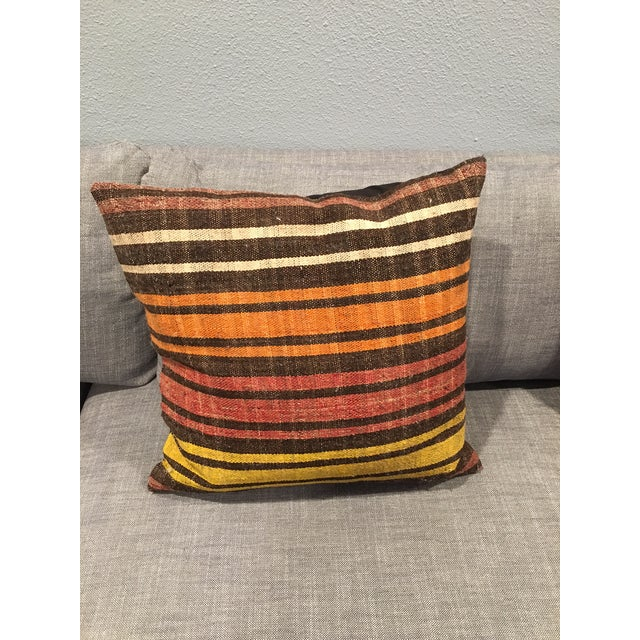 Turkish Kilim Pillow Covers - A Pair - Image 3 of 5