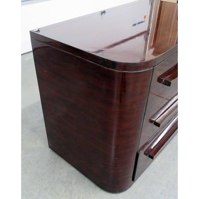 Wood Ralph Lauren Contemporary Nightstand For Sale - Image 7 of 8