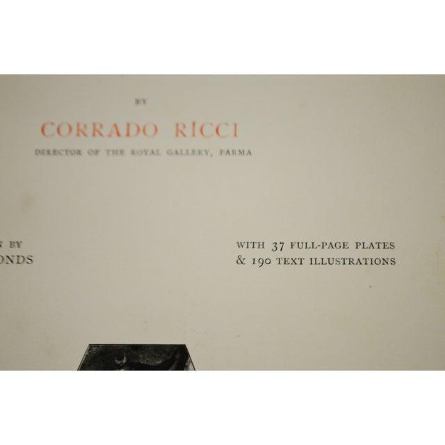 """Brown 1896 Antique """"Da Correggio Antonio Allegri Da Correggio His Life, His Friends, And His Time"""" Book For Sale - Image 8 of 10"""