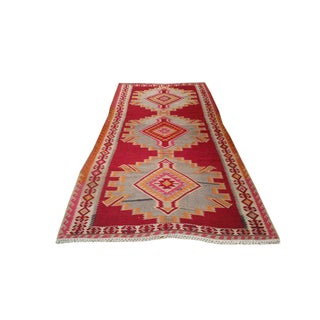 Vintage Kilim Hand Made Rug - 5x8 For Sale