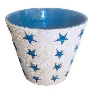 1960s Aldo Londi for Bitossi Italian Pottery Lidded Vessel Planter For Sale