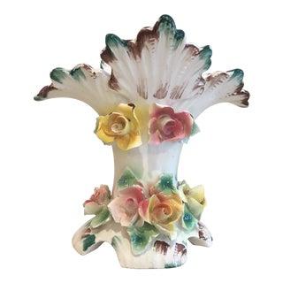 Vintage Italian Flower Vase For Sale