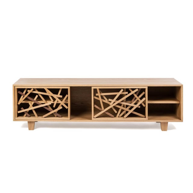 Wood Thistle Console For Sale - Image 7 of 7