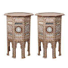 Image of Moroccan Accent Tables
