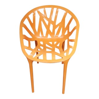 Orange Openwork Poly Chair For Sale