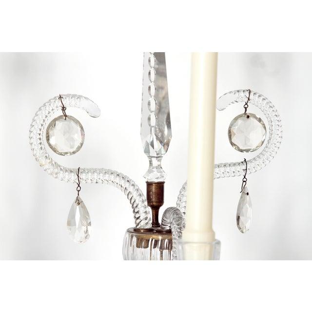 George II Cut Glass Girandoles / Lustres - Image 9 of 11