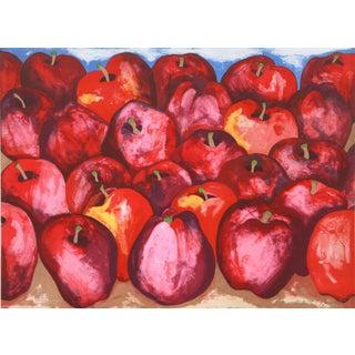 Richard C. Karwoski - Fall Apples Lithograph