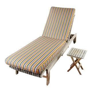 Smith & Hawken Teak Lounge Chair