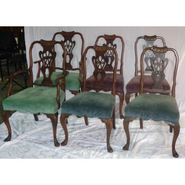 Batesville Mahogany Dining Chairs- Set of 6 - Image 5 of 11