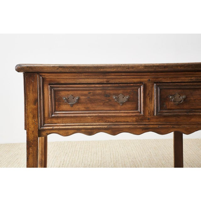 19th Century English Country Georgian Oak Sideboard Dresser For Sale In San Francisco - Image 6 of 13