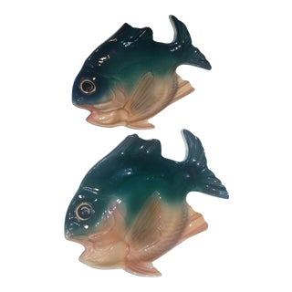Brad Keeler Mid-Century Modern Fish Dishes - a Pair For Sale