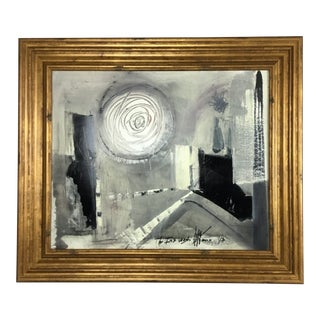 """Graham Harmon Abstract """"The Ink Wash"""" For Sale"""