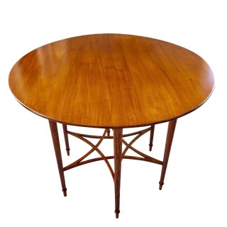19th Century English Aesthetic Movement Center Table For Sale