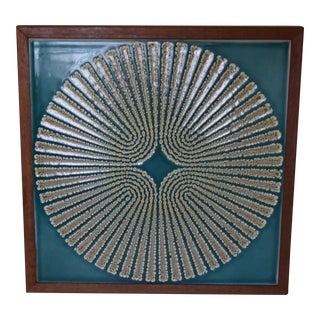 Vintage Hand Crafted Modern Art Tile Trivet