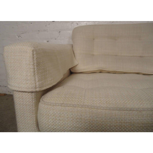 Mid-Century Modern Mid-Century Upholstered Armchairs by Knoll Associates - a Pair For Sale - Image 3 of 10