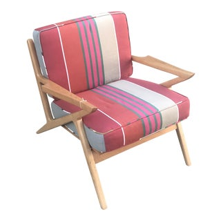 Mid-Century Modern Danish Z Chair For Sale